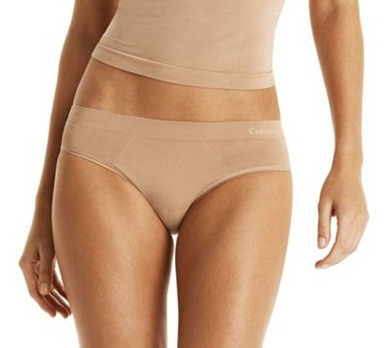 www.prominentresults.com :A0037 Calvin Klein NEW Perfectly Fit Solutions Shirred back Bikini D2919 PR NWT