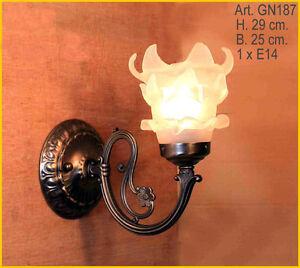 Jugendstil-Wohnzimmer-Flur-Lese-Spiegel-Wand-Lampe-Wandlampe ...