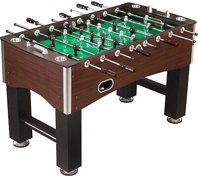 """Primo 56"""" 1 Goalie Foosball Soccer Game Room Table Football w/Solid Steel Rods"""
