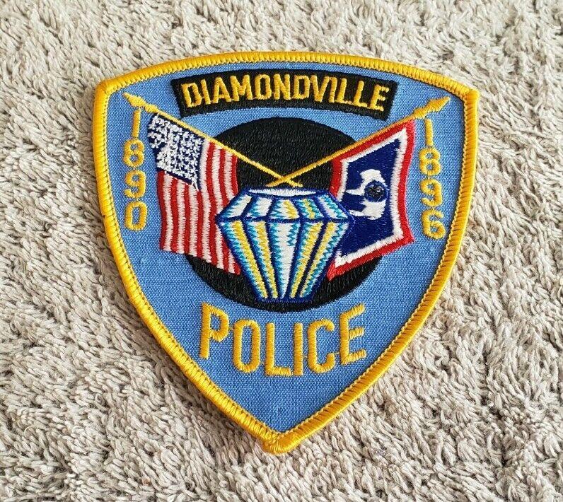 Diamondville Wyoming Police Shoulder Patch
