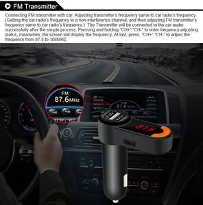 Car Bluetooth V2.1 + EDR Transmitter with FM & Hands-free NEW