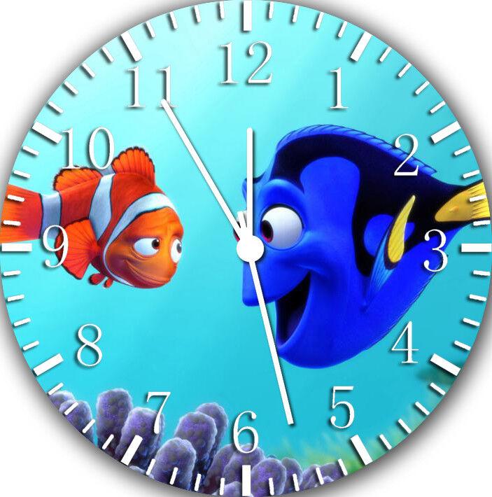 Disney Finding Dory Frameless Borderless Wall Clock For Gifts or Home Decor E96