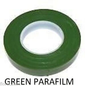 WEDDING-Accessories-PARAFILM-GREEN-FLORIST-STEM-WRAP-FLORAL-TAPE
