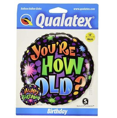 B Day Ballons (Pioneer Balloon Company B'day You're How Old? Ballon)