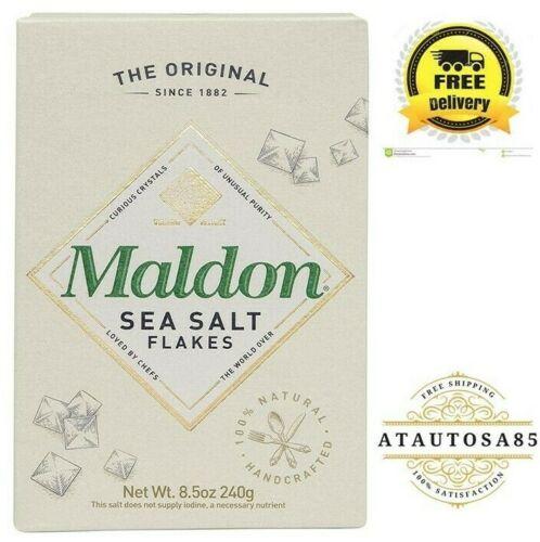 Kosher Natural Handcrafted Sea Salt Flakes, 8.5 oz (240 g)