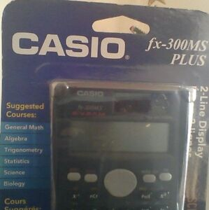 CASIO FX-300 MS Plus--Scientific Calculator