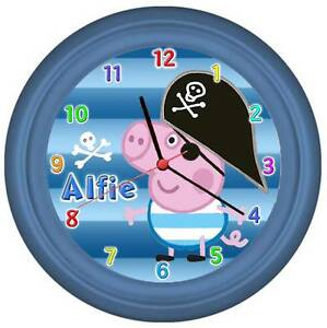 ☀  Personalised  ☀  PEPPA PIG  CLOCK  ☀