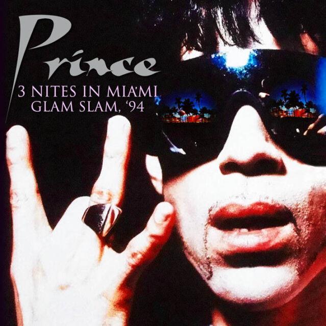 PRINCE - 3 Nites In Miami Glam Slam '94. New 4CD Box Set + Sealed **NEW**