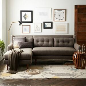 West Elm Crosby Sectional Sofa