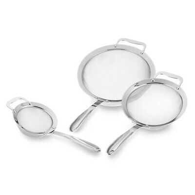 All-Clad 3-Piece Stainless-Steel Strainer -