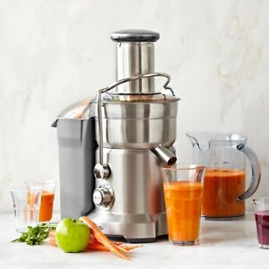 Breville The Juice Fountain Cold Juicer - Silver