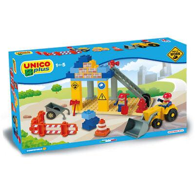 Unico Plus - Cantiere edile - compatibili lego duplo