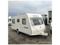 2007 BAILEY RANGER SERIES 5 TOURING CARAVAN 4 BERTH TOURER WITH FIXED BED