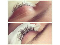 Semi perm lashes / home based FULLY INSURED-QUALIFIED
