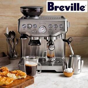 USED BREVILLE ESPRESSO MACHINE BARISTA EXPRESS - ESPRESSO MACHINE WITH GRINDER 106655800