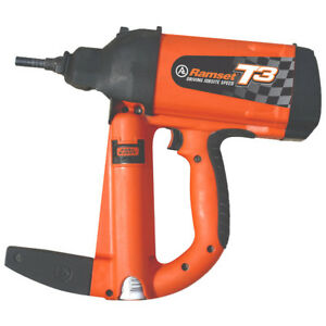 Ramset Gas Powered Tool for concrete, block and steel $299