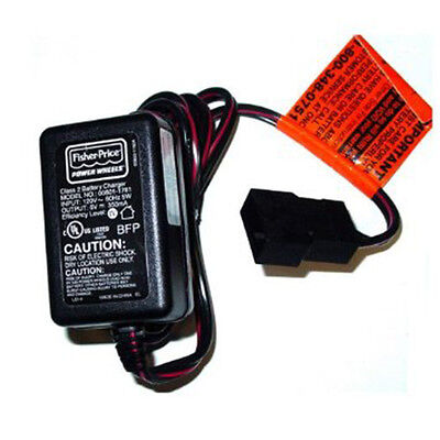 *NEW* Power Wheels 00801-1781 or 00801-1483 Blue 6v Battery Charger 6 Volt
