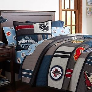 NHL Pottery Barn NHL Quilt x2