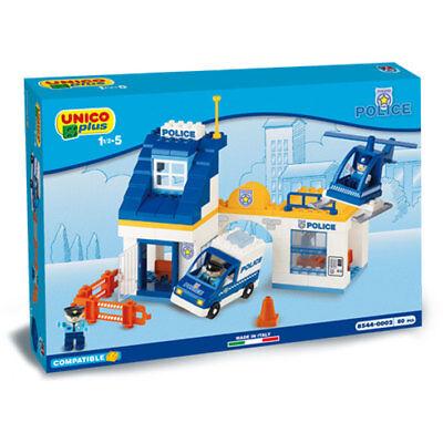 Unico Plus - Stazione di Polizia - compatibili lego duplo