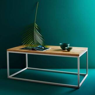 WestElm Modern Box-Frame Coffee Table Excellent condition