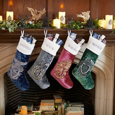 POTTERY BARN TEEN HARRY POTTER Stockings 3 blue green red