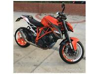 2014 14 KTM 1290 SUPER DUKE R WITH MANY EXTRAS LOW MILEAGE IN MINT CONDITION