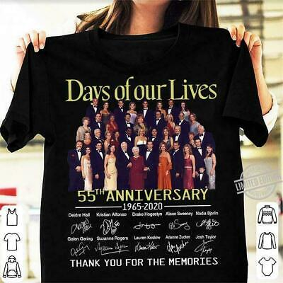 Days Of Our Lives 55th Anniversary Thank You For The Memories Shirt Birthday