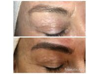 Microblading £85 including touch up