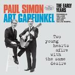 cd - simon  & garfunkel - TWO YOUNG HEARTS AFIRE WITH ..
