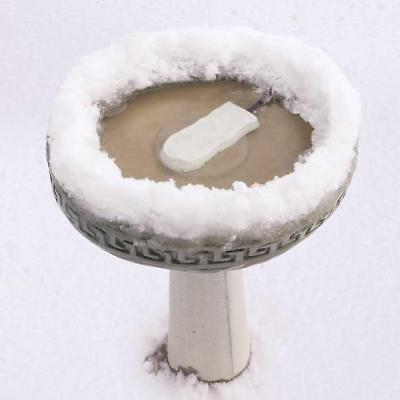 "K&H Pet Products Ice Eliminator Bird Bath De-Icer White 7"" x 3"" x 1"" KH9000"