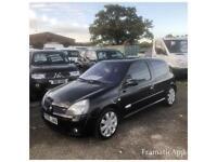 2005 RENAULT CLIO SPORT 2.0 182 IN METALLIC BLACK