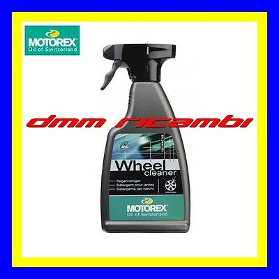 Pulitore Ruote Auto MOTOREX Wheel Cleaner Detergente Pulizia Cerchi Cerchioni