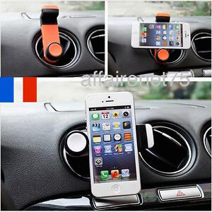 support t l phone portable fixation voiture universel au volant smartphone gps ebay. Black Bedroom Furniture Sets. Home Design Ideas