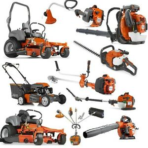 up to 25% OFF ALL HUSQVARNA EQUIPMENT + PROMOS