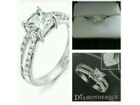 Avon rene diamondesque ring