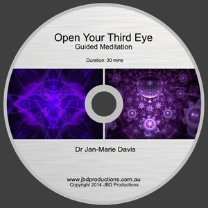 Details about guided meditation cd to open your third eye by jan marie