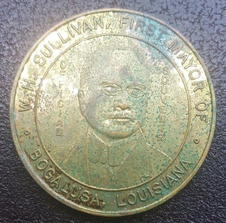 Bogalusa, Louisiana. W. H. Sullivan, the First Mayor. Golden Jubilee. 1964.
