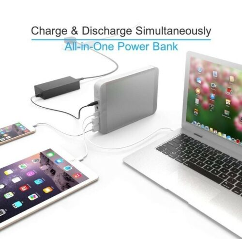 Power Bank Charger Portable Battery Pack 36000mAh Laptop TSA