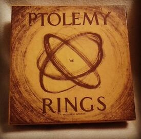 1970's Ptolemy Rings by Brookbrae of London.