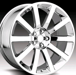 "WANTED Chrysler 300 or vipers 22"" srt rims"