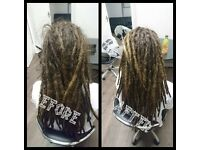 DREADS, DREADLOCKS, MAINTENANCE, EXTENSIONS,ALL DREAD SERVICES @ SPACE DREADS KNIGHTSWOOD