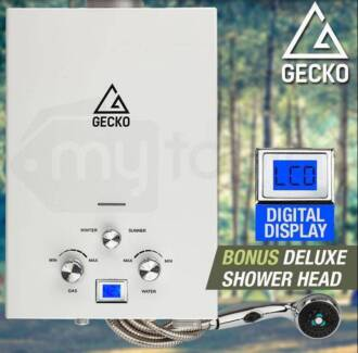 Gas Hot Water Heater - Portable Shower Camping LPG Outdoor New