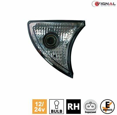 Vignal C105 BULB RH FRONT INDICATOR Light Lamp (Clear) 12/24V IVECO Truck Van