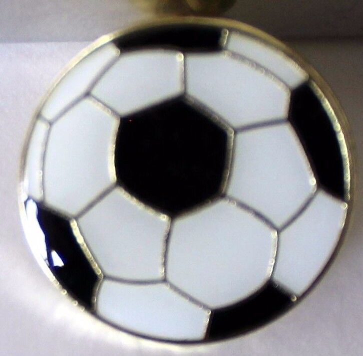 New Soccer Ball Lapel Hat Pin Goal Tie Tack League Sports Football National