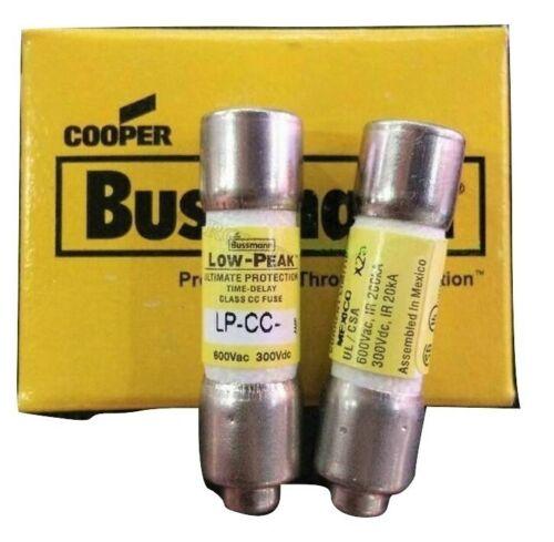 USA (LOT OF 5) Bussmann Low Peak LP-CC-20 fuse 20 amp 600 VAC LPCC20 (5 PACK)