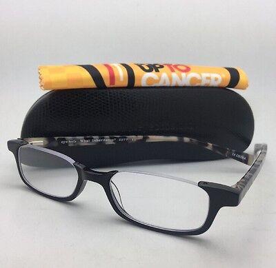 Readers EYE•BOBS Eyeglasses WHAT INHERITANCE? 2277 11 +2.50 Black White Tortoise