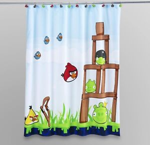 Angry bird curtains