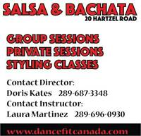 Salsa & Bachata Dance Classes!