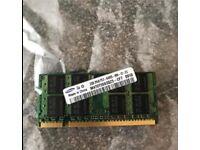 2gb Samsung laptop memory.