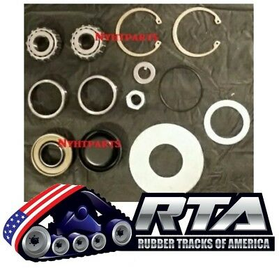 One 10 Rear Bogie Wheel Bearing Repair Kit Fits Asv Rc50 Rc60 Sc50 St50